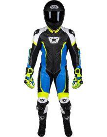 Cortech Adrenaline 1 Piece Suit Blue/Hi-Vis