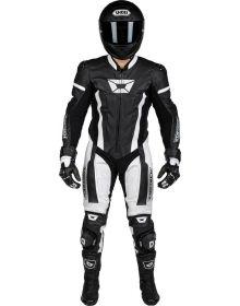 Cortech Apex V1 1 Piece Suit Black/White