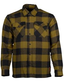 Cortech Bender Riding Flannel Shirt Olive