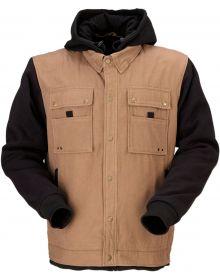 Z1R Jayrod Hoodie Jacket Black/Tan