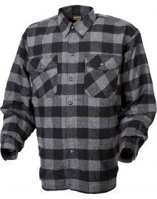 Scorpion Covert Moto Flannel Shirt Black/Gray
