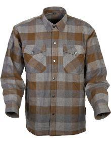 Scorpion Covert Moto Flannel Shirt Tan/Brown