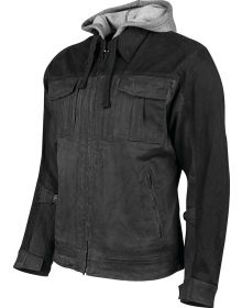 Speed and Strength Rough Neck Textile Jacket Grey/Black