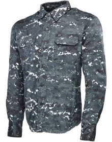 Speed and Strength Call To Arms Long Sleeve Shirt Blue/Camo
