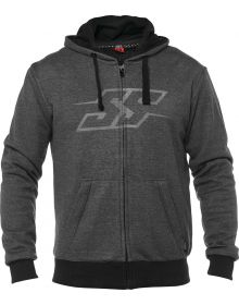 Speed and Strength Resistance Armored Hoody Sweatshirt Charcoal