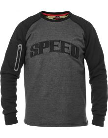 Speed and Strength Rival Armored Crew Sweatshirt Gray/Black