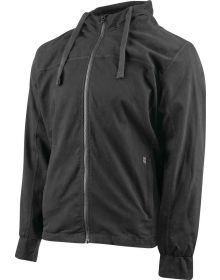 Speed and Strength Go For Broke 2.0 Armored Hoody Jacket Black