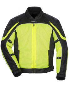 Tourmaster Intake Air 4.0 Jacket Hi Visibility Yellow/Black