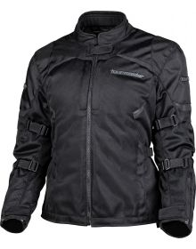 Tourmaster Intake Air V6 Womens Jacket Black