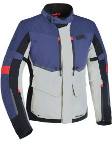 Oxford Mondial Advanced Jacket Grey/Blue/Red