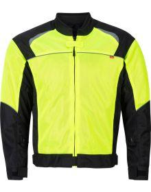 Noru Kuki Mesh Jacket Fluorescent Yellow/Black