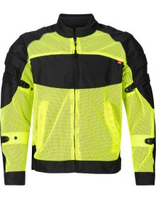 Noru Kaze Mesh Jacket Fluorescent Yellow/Black