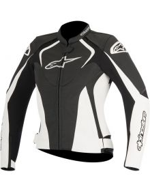Alpinestars Stella Jaws Leather Women Jacket Black/White