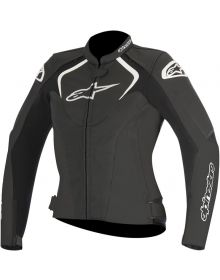 Alpinestars Stella Jaws Leather Women Jacket Black