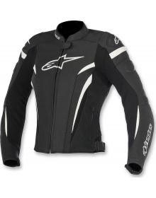 Alpinestars GP Plus R V2 Airflow Womens Leather Jacket Black/White