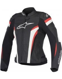 Alpinestars GP Plus R V2 Airflow Womens Leather Jacket Black/White/Red