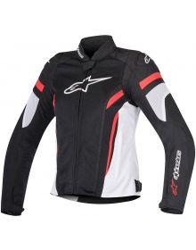 Alpinestars Stella T-GP Plus R V2 Air Womens Jacket Black/White/Red