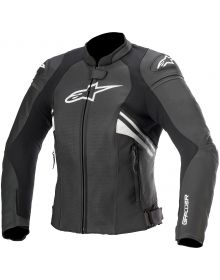 Alpinestars Stella GP Plus R V3 Womens Leather Jacket Black/White