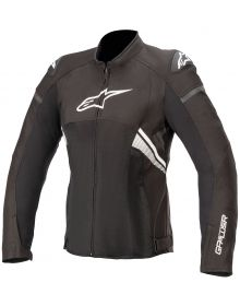 Alpinestars Stella T-GP Plus R V3 Air Womens Jacket Black/White
