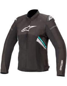 Alpinestars Stella T-GP Plus R V3 Air Womens Jacket Black/White/Teal