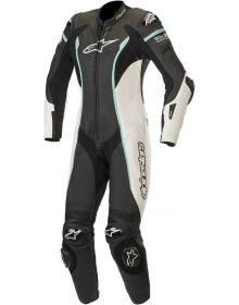 Alpinestars Stella Missile Womens Leather Suit Black/White/Teal