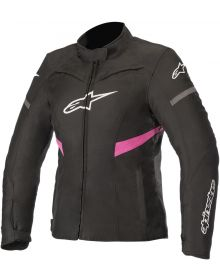 Alpinestars Stella Kira Waterproof Womens Jacket Black/Fuchsia