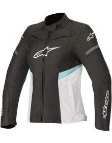 Alpinestars Stella Kira Waterproof Womens Jacket Black/White/Teal