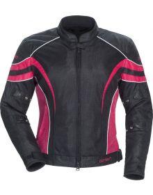 Cortech LRX Air 2 Womens Jacket Black/Pink