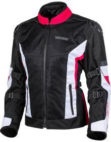 Cortech Hyper-Flo Air Womens Jacket Rubine