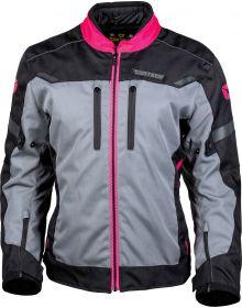 Cortech Aero-Tec Womens Jacket Black/Rubine/Gun