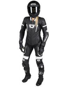 Cortech Apex V1 Womens 1 Piece Suit Black/White