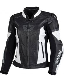 Cortech Apex V1 Womens Jacket Black/White