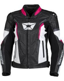 Cortech Apex V1 Womens Jacket Rubine/Grey