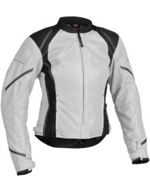 Firstgear Mesh-Tex Womens Jacket Silver