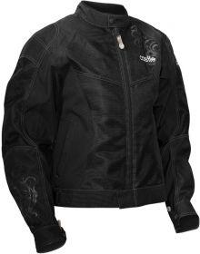 Castle Desire Womens Jacket Black