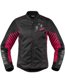 Icon Wireform Womens Jacket Black/Pink