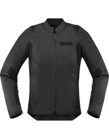 Icon Overlord SB2  Womens Jacket Stealth