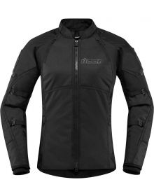 Icon Automag2 Womens Jacket Stealth Black