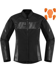Icon Hooligan Womens Jacket Black