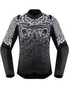 Icon Overlord SB2 Womens Jacket Mandala Black