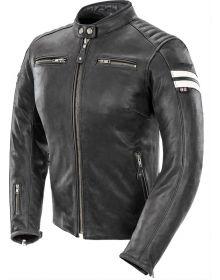 Joe Rocket Classic '92 Womens Jacket Black/White