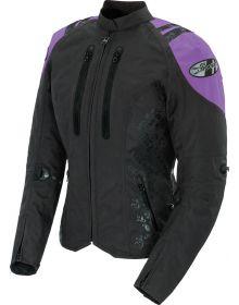 Joe Rocket Atomic 4.0 Womens Jacket Black/Purple