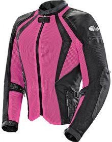 Joe Rocket Cleo Elite Mesh Womens Jacket Pink