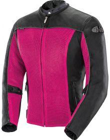 Joe Rocket Velocity Mesh Womens Jacket Pink/Black