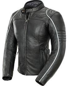 Joe Rocket Lira Leather Womens Jacket Black/White