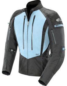 Joe Rocket Atomic 5.0 Womens Jacket Blue/Black