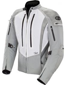 Joe Rocket Atomic 5.0 Womens Jacket White/Silver