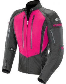 Joe Rocket Atomic 5.0 Womens Jacket Pink/Black