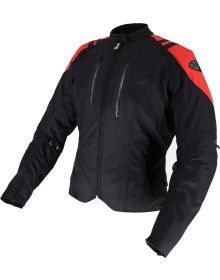 Joe Rocket Atomic LTD Womens Jacket Black/Red