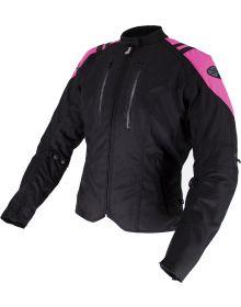Joe Rocket Atomic LTD Womens Jacket Black/Pink